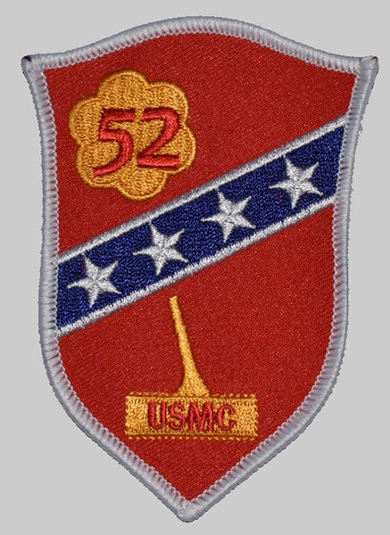52ND DEFENSE BATTALION MONTFORD POINT MARINES PATCH - Multi-colored