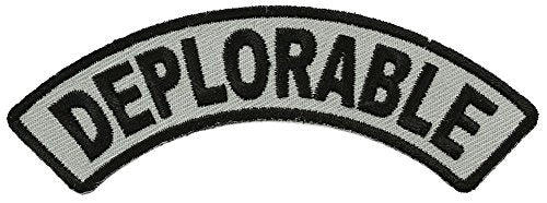 DEPLORABLE PATCH - Color - Veteran Owned Business.