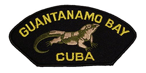 GUANTANAMO BAY CUBA with an Iguana Patch - Veteran Owned Business