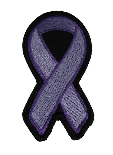 LIGHT PURPLE RIBBON AWARENESS PATCH