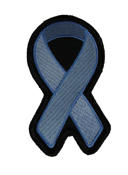 LIGHT BLUE RIBBON AWARENESS PATCH