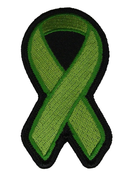 GREEN RIBBON AWARENESS PATCH - HATNPATCH