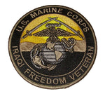 U.S. Marine Corps Iraqi Freedom Veteran OIF Marine Vet Patch - Veteran Owned Business