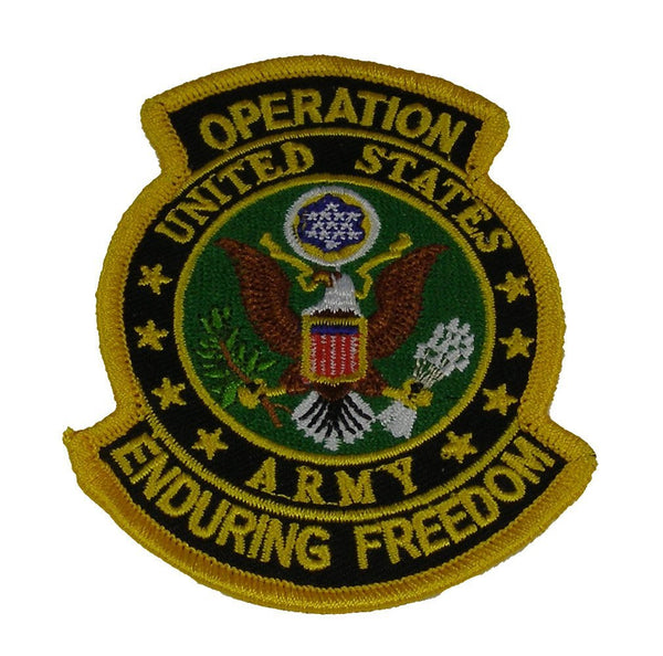 US ARMY OPERATION ENDURING FREEDOM PATCH