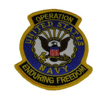 US NAVY OPERATION ENDURING FREEDOM PATCH - HATNPATCH