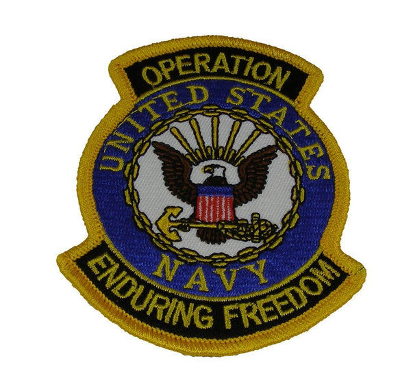 US NAVY OPERATION ENDURING FREEDOM PATCH