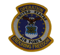 US AIR FORCE OPERATION ENDURING FREEDOM PATCH