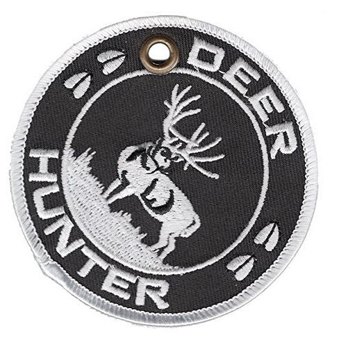 DEER HUNTER Double-Sided Patch Ornament