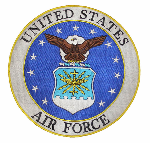AIRFORCE LARGE SEAL PATCH