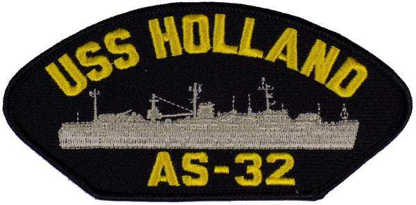 US Navy USS HOLLAND AS-32 PATCH - Found per customer request! Ask Us! - HATNPATCH