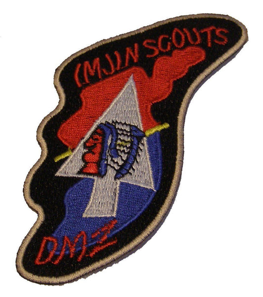 IMJIN SCOUTS DMZ PATCH KOREA 38TH PARALLEL 2ND SECOND INFANTRY ID FREEDOM BRIDGE - HATNPATCH