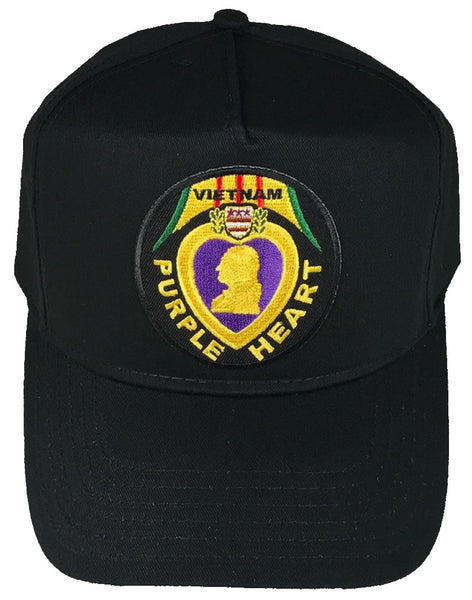 PURPLE HEART VIETNAM VETERAN HAT