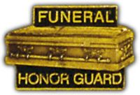 FUNERAL HONOR GUARD HAT PIN