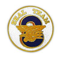SEAL TEAM 8 HAT PIN