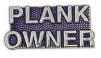PLANK OWNER HAT PIN