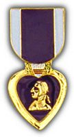 PURPLE HEART HAT PIN - HATNPATCH