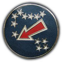 USA PACIFIC HAT PIN - HATNPATCH