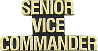 SENIOR VICE COMMANDER HAT PIN - HATNPATCH