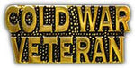 COLD WAR VETERAN HAT PIN - HATNPATCH