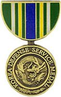 SERVICE MEDAL KOREA DEFENSE HAT PIN
