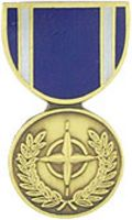 NATO MEDAL HAT PIN