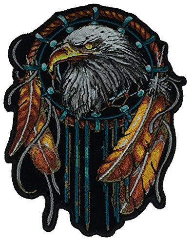 EAGLE DREAM CATCHER PATCH - VIVID COLOR - Veteran Owned Business
