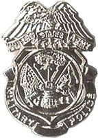USA MILITARY POLICE HAT PIN