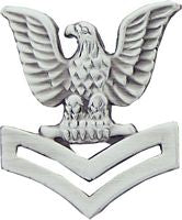 USN 2ND CLASS CROW HAT PIN