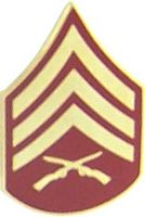 E-5 SERGEANT HAT PIN