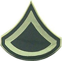 USA PRIVATE FIRST CLASS E-3 HAT PIN - HATNPATCH