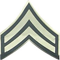 USA CORPORAL E-4 HAT PIN