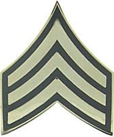 USA SERGEANT E-5 HAT PIN