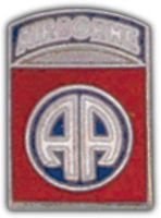 82ND AIRBORNE DIV HAT PIN