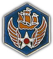 6TH AIR FORCE HAT PIN