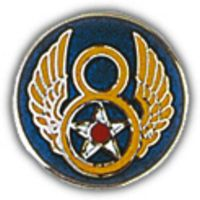 8TH AIR FORCE HAT PIN - HATNPATCH