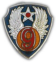9TH AIR FORCE HAT PIN