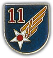 11TH AIR FORCE HAT PIN - HATNPATCH