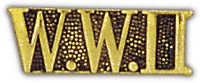 WORLD WAR II HAT PIN - HATNPATCH