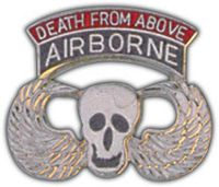 DEATH FROM ABOVE HAT PIN - HATNPATCH