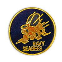 SEABEES HAT PIN - HATNPATCH