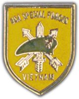 SPECIAL FORCES VIETNAM HAT PIN - HATNPATCH