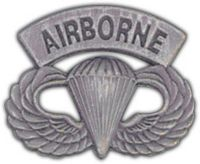AIRBORNE PARATROOPER HAT PIN - HATNPATCH