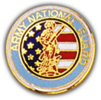 ARMY NATIONAL GUARD HAT PIN - HATNPATCH