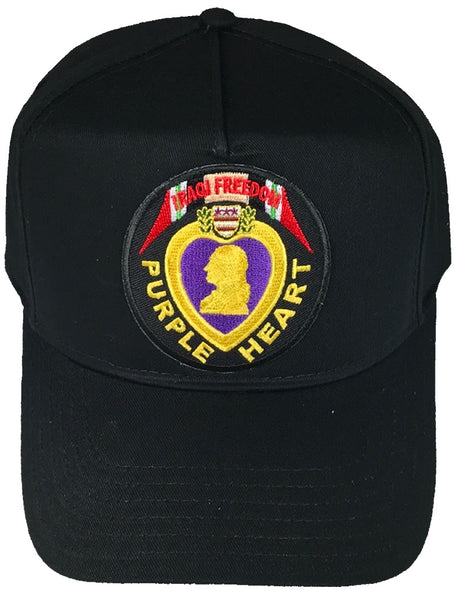 PURPLE HEART IRAQI FREEDOM VETERAN HAT - HATNPATCH