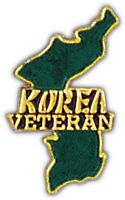 KOREA VETERAN HAT PIN - HATNPATCH