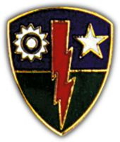 75TH INF BDE HAT PIN