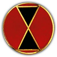 7TH DIV HAT PIN - HATNPATCH