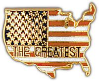AMERICA THE GREATEST HAT PIN - HATNPATCH