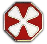 8TH ARMY HAT PIN