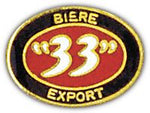 "BIERE ""33"" EXPORT HAT PIN - HATNPATCH"